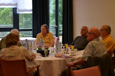 Bewohnervertretungen und der Seniorenbeirat der Stadt Vallendar tagten in der Seniorenresidenz Humboldthöhe