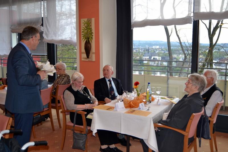Seniorenresidenz Humboldthöhe ehrt Ehrenamtliche