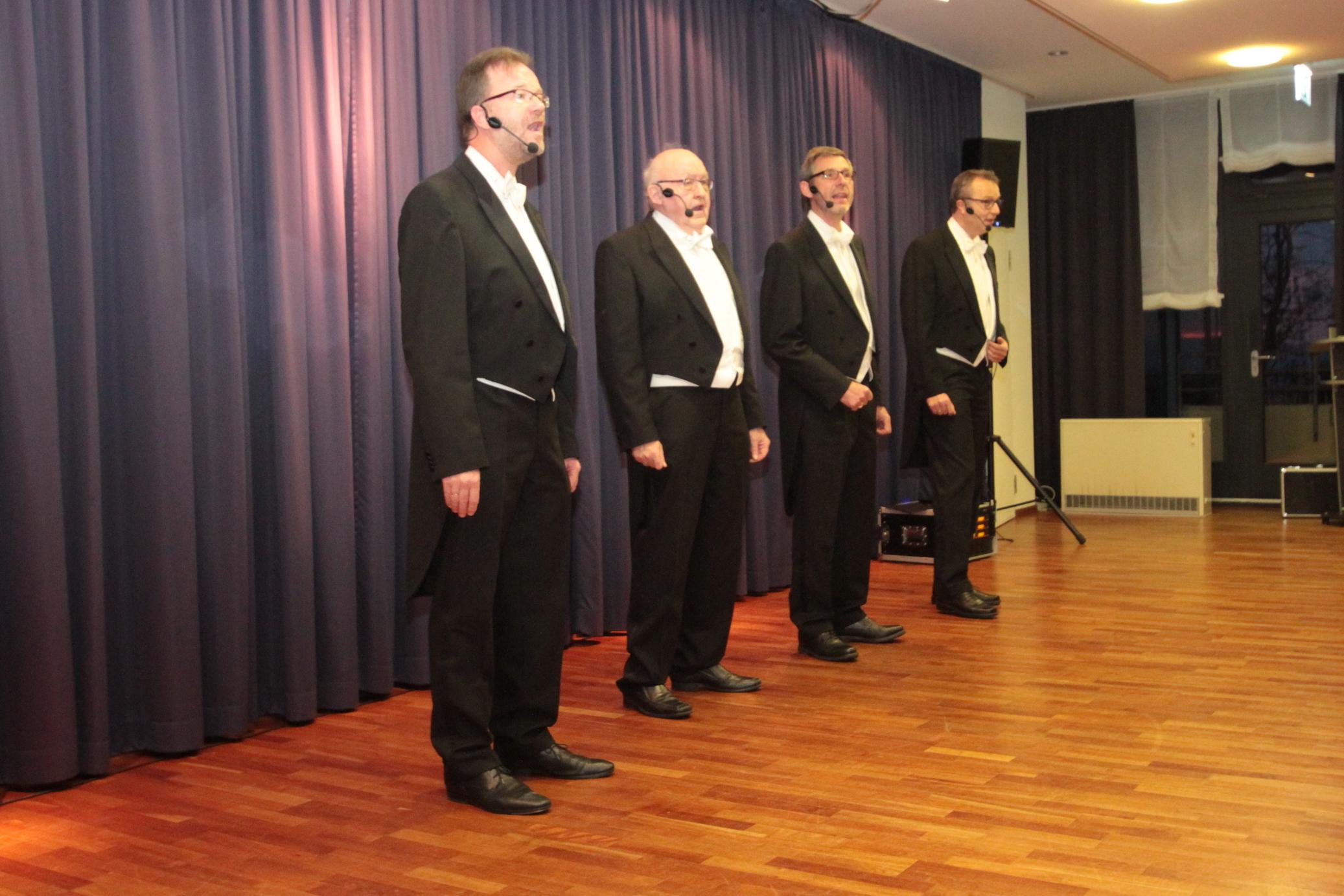 Kunst & Kultur in der Residenz Humboldthöhe Amüsantes A-Capella Konzert vom Allerfeinsten